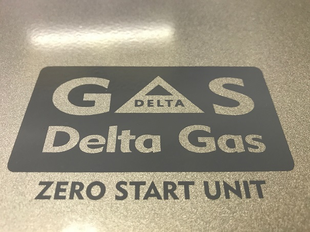 Zero Start Gas Geyser Metallic Silver Finish